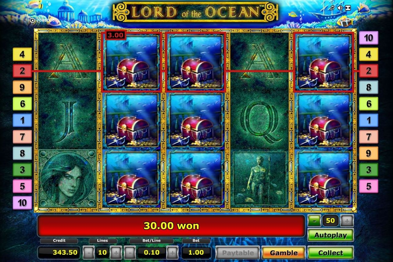Lord of the Ocean spielen
