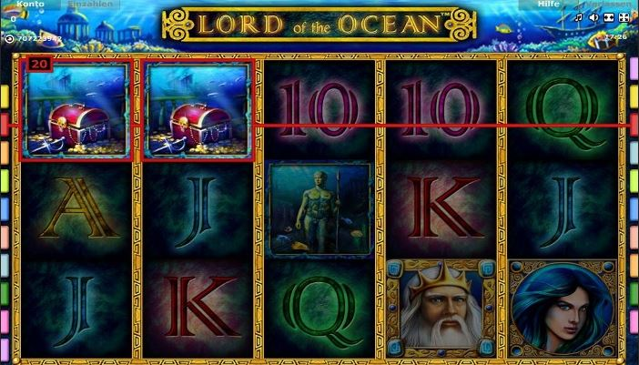 slots online de lord of ocean tricks